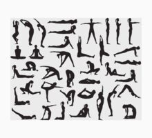 Yoga Posture 2 One Piece - Short Sleeve