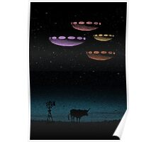 Mysteries of the Night Sky Poster