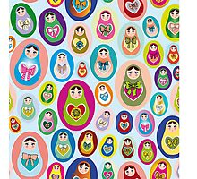 doll matryoshka Photographic Print