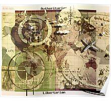 """""""World Map 4200 AZ"""" Poster"""
