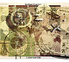 """World Map 4200 AZ"" Photographic Print"