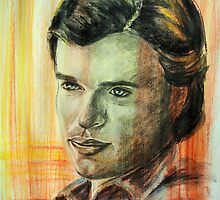 Portraits of Tom Welling, Clark Kent of Smallville by Françoise  Dugourd-Caput