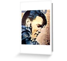 Oh Elvis Greeting Card