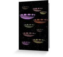 Invasion Force Greeting Card
