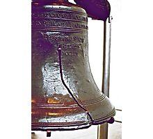 Liberty Bell Closeup Photographic Print