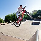 BMX Bike Stunt bar spin by homydesign