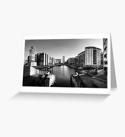 Clarence Dock, Leeds Greeting Card
