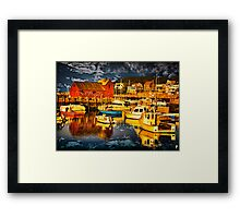 Bearskin Neck, Rockport Framed Print