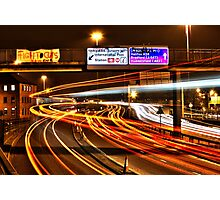 Rush Hour Ring Road Photographic Print
