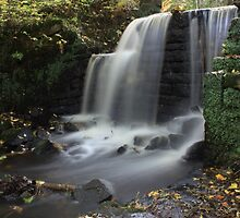 Rivelin Waterfall by slkphotography