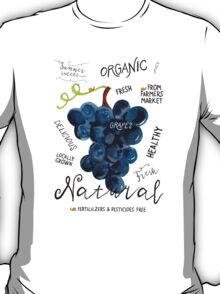 Watercolor grapes T-Shirt