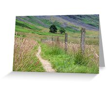 Scottish Countryside in the Afternoon Greeting Card