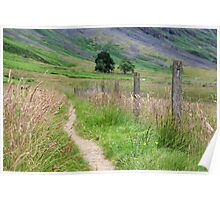 Scottish Countryside in the Afternoon Poster