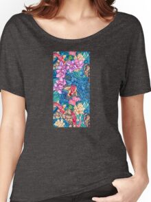 Orchid Splash Women's Relaxed Fit T-Shirt