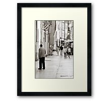 Ev'ry Day I'm Shuffalin' Framed Print