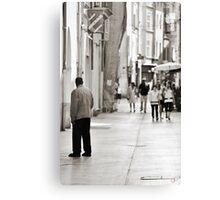 Ev'ry Day I'm Shuffalin' Canvas Print