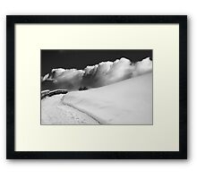 in the Ore Mountains Framed Print