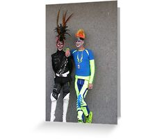 Who's the garish of them all…. Greeting Card