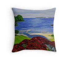 Coastal View 2 Throw Pillow