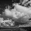 Ridge running with the clouds by clickinhistory