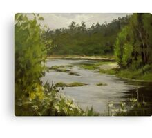 Winery River Canvas Print