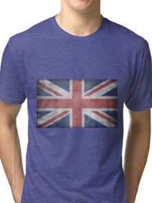 UNION JACK FLAG Tri-blend T-Shirt