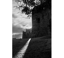 Llansteffan Castle Photographic Print