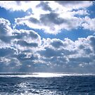 Ocean meets Clouds by G.T.S Photos
