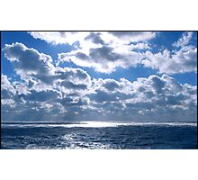 Ocean meets Clouds Photographic Print