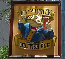 Pig n Whistle by Margaret  Hyde
