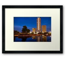 CityPlex Towers Framed Print