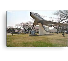 Retired Air Force Aircraft Metal Print
