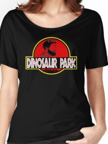 Sanspants Radio - Dinosaur Park Women's Relaxed Fit T-Shirt