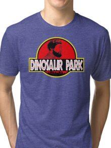 Sanspants Radio - Dinosaur Park Tri-blend T-Shirt