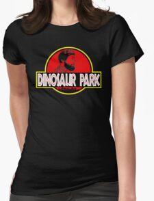 Sanspants Radio - Dinosaur Park Womens Fitted T-Shirt