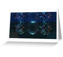 Crystal Blue Flashbang2 Greeting Card