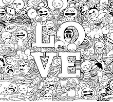 Love Doodle by minestea