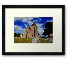 St Clement, Old Romney Framed Print
