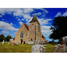 St Clement, Old Romney Photographic Print