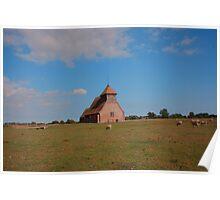 St Thomas Becket Church, Fairfield Poster