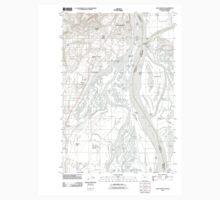 USGS Topo Map Oregon Saint Helens 20110901 TM Kids Tee