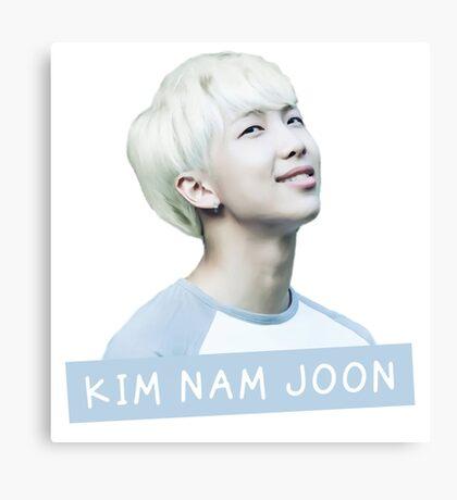 Kim Nam Joon Canvas Print