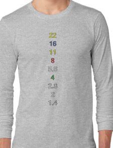 Darkroom Aperture Long Sleeve T-Shirt