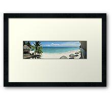 Akumal, Mexico Framed Print