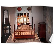 Bed in Doll House Poster