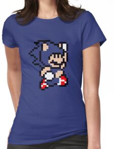 Sonic Suit Womens Fitted T-Shirt