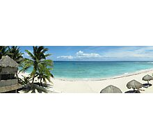 Day on the beach - Akumal, Mexico Photographic Print