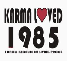 karma loved 1985 by Dee-Karma-Arts