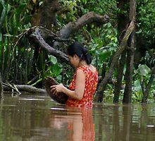 In the Mekong by Heather Walker