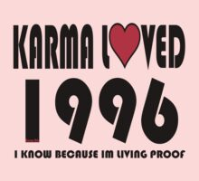 karma loved 1996 One Piece - Short Sleeve